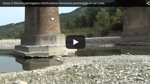 Grave il 38 enne parmigiano infortunatosi domenica in Ceno.