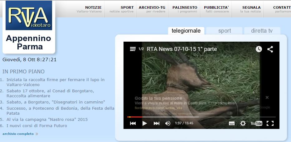 Cerchiamo di salvare capre a cavoli o meglio… lupi e capre. Intervista al sindaco di Fornovo.