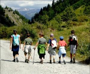 15116 bambini montagna