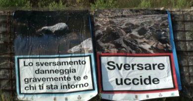 Sversamenti in Ceno iniziativa di condanna del popolo del fiume. Ma gli enti preposti hanno fatto proprio tutto?