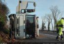 Langhirano: spettacolare incidente a Cascinapiano, nessun ferito. Le immagini dei soccorsi.