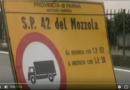 Situazione di necessaria illegalità lungo la provinciale 42 del Mozzola. Intervista all'assessore provinciale.
