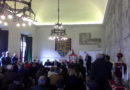 Bardi: il sindaco di Praga in visita al castello, per inaugurare la mostra di quadri sul lavoro in Cechia.