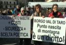 Punto Nascita Ospedale Borgotaro La Cicogna non vola in montagna Protesta