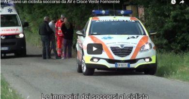Collecchio. Il 25 aprile ciclista cade a Gaiano i soccorsi di AV di Collecchio e Croce Verde di Fornovo