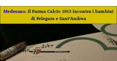 Medesano. Il Parma Calcio incontra i Bambini delle scuole dei Felegara e Sant'Andrea.
