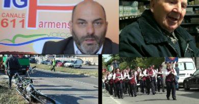 Alle 13.30 il tg con le immagini del 25 aprile a Collecchio, Medesano, Fornovo, Varano e Varsi,