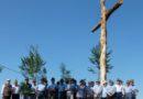 Varsi. Dopo 30 anni rimessa una Croce alta 9 metri nella zona di Contile