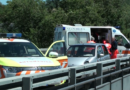 Fornovo.Incidente stradale sul ponte.