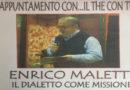 Casa Vasini Fornovo termina la rassegna un The con Te  con il missionario del dialetto Enrico Maletti