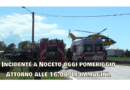 Incidente stradale a Noceto