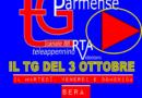 Il TG Parmense del 3 ottobre.