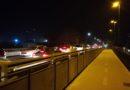 Traffico in tilt a Fornovo a causa di un tamponamento sul ponte
