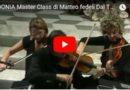 Estratti dal Tg del 13 settembre 2017 BEDONIA Master Class di Matteo fedeli Dal Tg Parmense del  13 sett