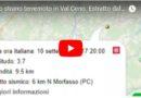Uno strano terremoto in Val Ceno. ESTRATTO dal Tg del 11 Settembre 201