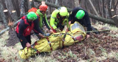 Ragazza di 30 anni cade in montagna trasportata in elisoccorso all'ospedale di MONTAGNA di Pavullo perchè….