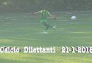 Calcio dilettanti 21-1-2018 pareggio 1-1 per le due squadre fornovesi passo falso del Sivizzano nel derby di vallate con la Calestanese