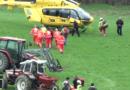 Incidente agricolo tra Ozzano e Gaiano