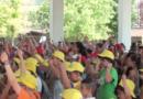 800 bambini e ragazzi di: Collecchio, Medesano, Fornovo, Lesignano, Sala Baganza,Traversetolo e Felegara. A Fornovo per la festa dei GREST