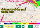 FULMINI E LAMPI della tempesta su Padova VISIBILI dal Parmense a 200 KM DI DISTANZA