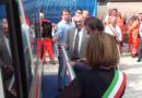"""Inaugurazione di un'ambulanza. Giacomo Magri: """"Le imprese e  le famiglie che hanno la possibilità, devono sostenere queste associazioni"""""""