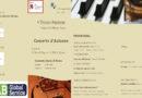 Domenica 11 novembre ore 11 Teatro Farnese Concerto d'Autunno