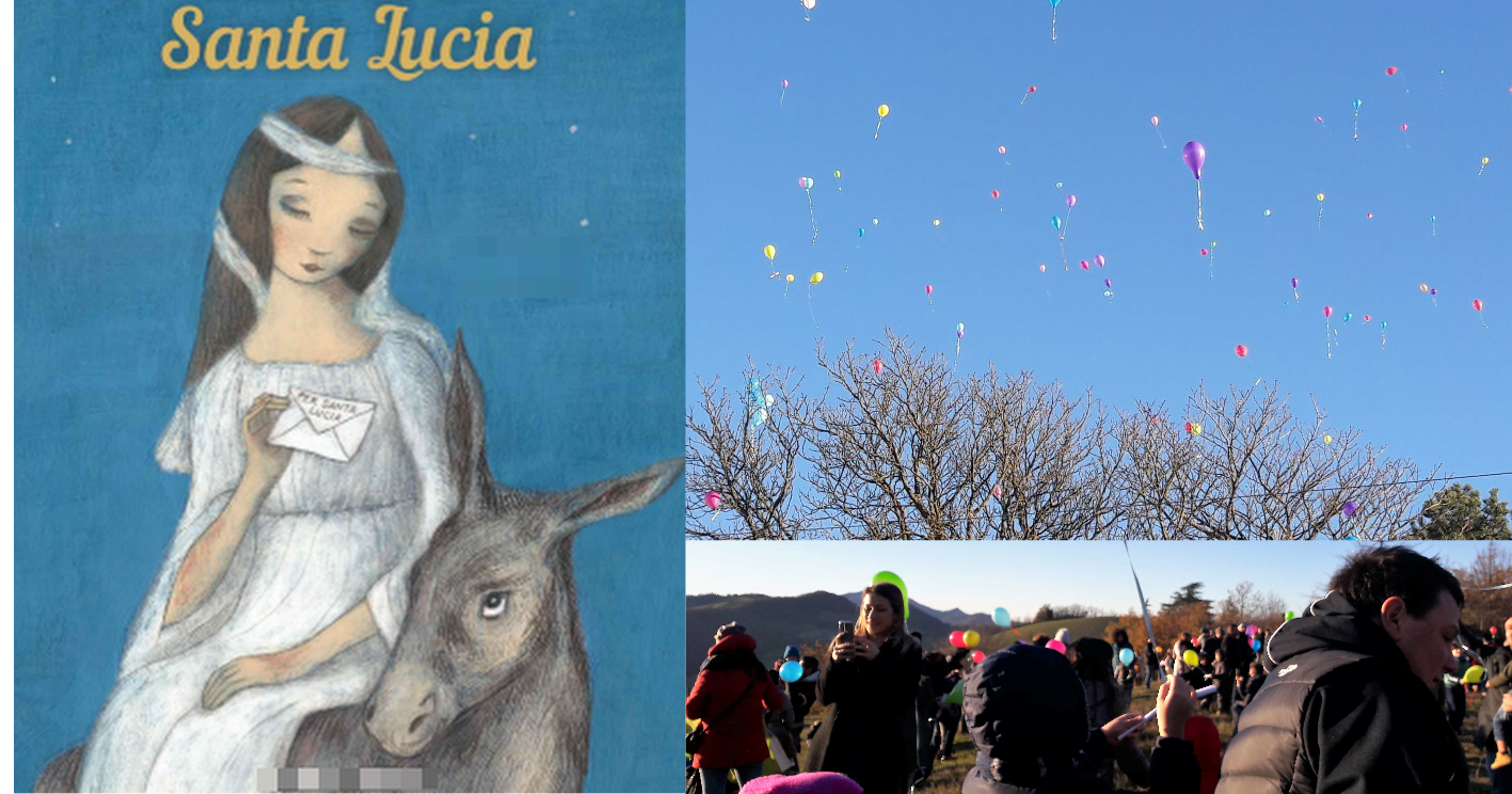 Santa Lucia Posta Aerea Per Le Letterine Dei Bambini Di Santa