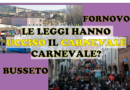 2019 Carnevale a Busseto e Fornovo? No grazie, troppe leggi!!!