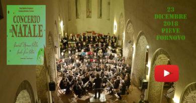 Pieve Romanica Fornovo Taro Il Concerto di Natale 2018 Corale Lirica e concerto d'Armonia della Valtaro