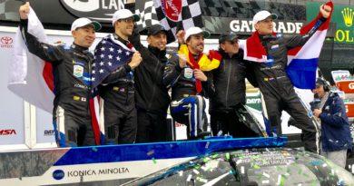 ALONSO vince a Daytona grazie alla DALLARA. Il video dell'AD Pontremoli.
