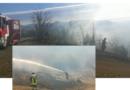 Anche a gennaio i danni della siccità. Incendio boschivo in Appennino