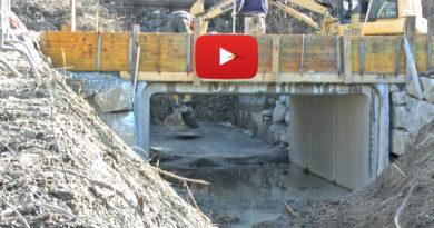 Fornovo abitanti località Osteriazza bloccati un giorno per il nuovo ponticello, ma rimane sempre l'erosione del fiume