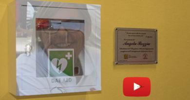 Ospedale Borgotaro un defibrillatore a ricordo della milite Angela Bozzia