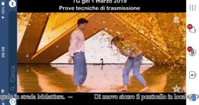 Ci sarà anche un pò di Val Ceno alla finale di Italian's Got Talent 2019