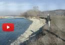 Fornovo Taro la minaccio del fiume sull'abitato dell'Osteriazza