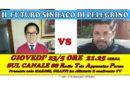 Il confronto tra i candidati per PELLEGRINO PARMENSE. Giovedì sera 23 maggio ore 21.25 circa canale 88