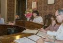 Fornovo il giuramento del nuovo Sindaco Michela Zanetti Gli assessori Vice Sindaco e capigruppo