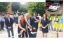 Le aziende del territorio donano un' auto elettrica al comune di Solignano